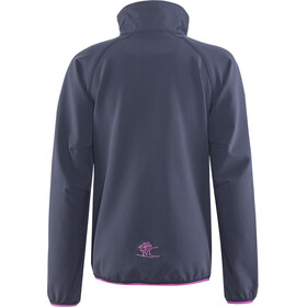 Bergans Kjerag Jacket Mädchen navy/steel blue/pink rose